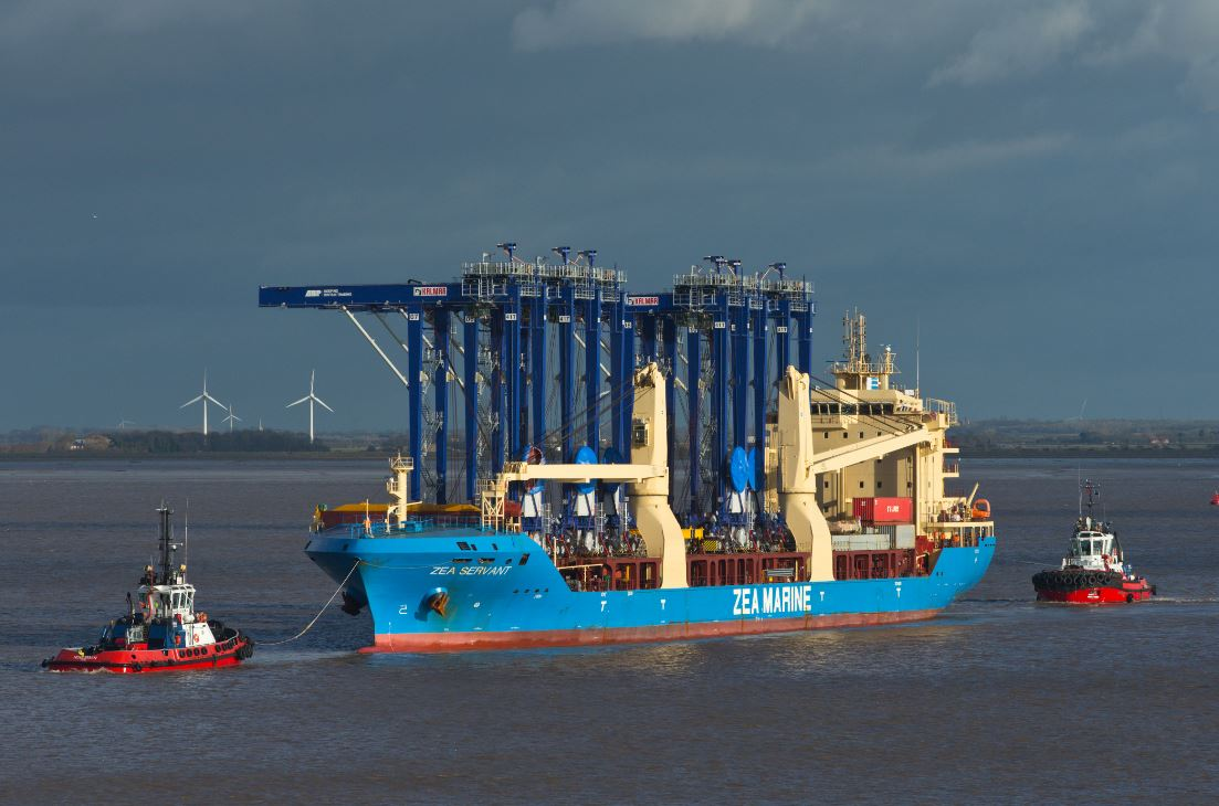 Port of Immingham receives electric RTGs as part of expansion project