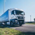 A P&O Ferrymasters trailer