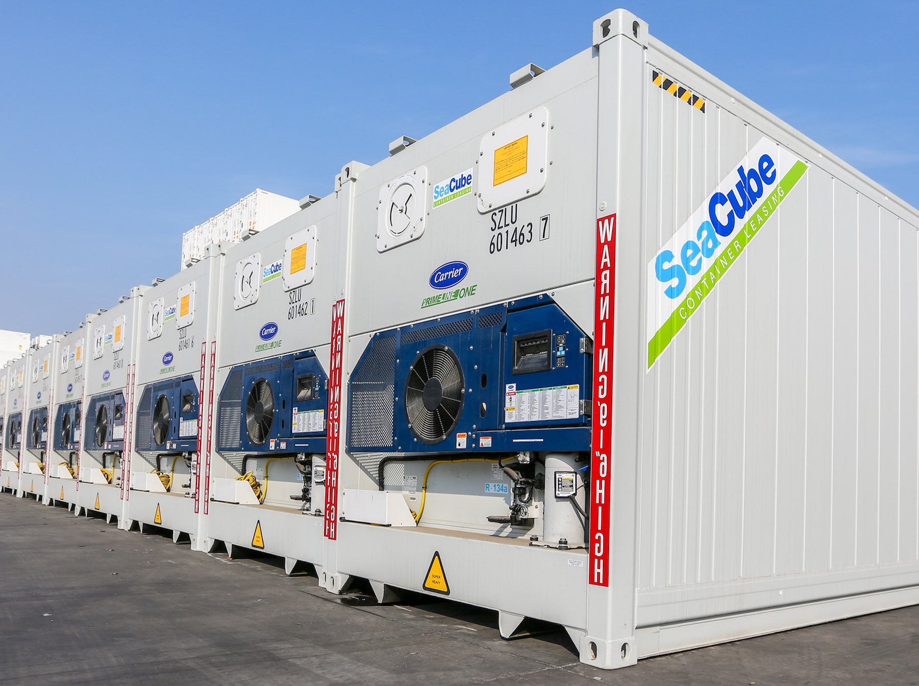 SeaCube receives 5,000 new Carrier Transicold refrigeration systems