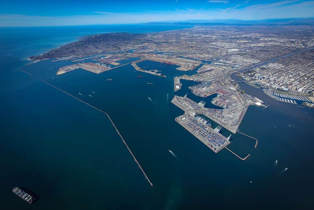 Imports drive record month at Port of Long Beach