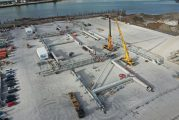 Port of Cork receives two STS cranes from Liebherr