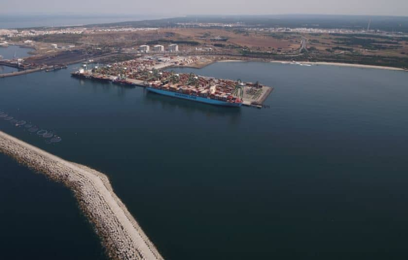 Port of Sines begins expansion
