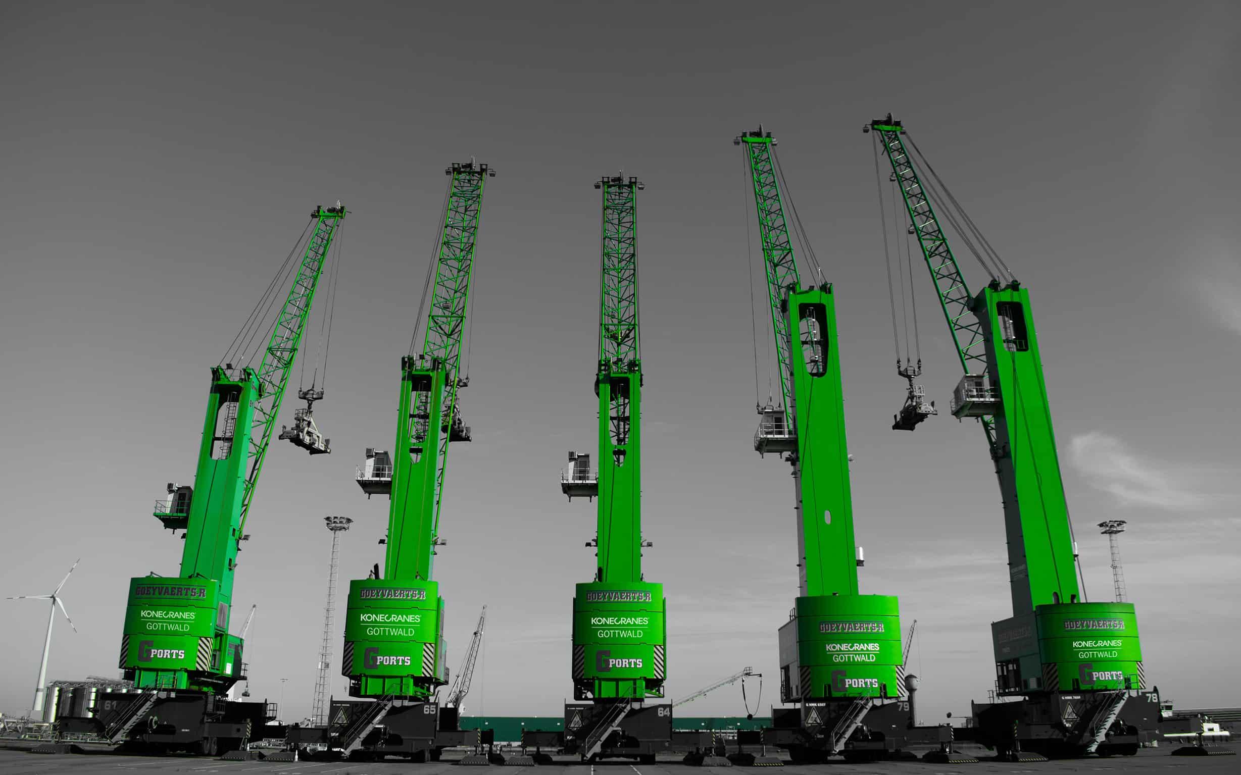 Goeyvaerts orders two more Konecranes Gottwald mobile harbour cranes