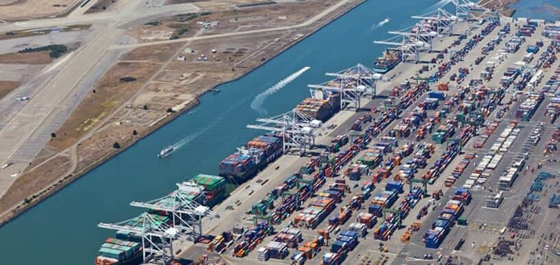 Double digit growth for Port of Oakland export volumes