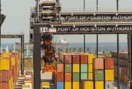 Container volumes slip at Port Houston