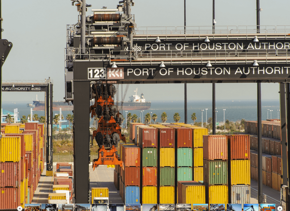 Container volumes slip at Port Houston