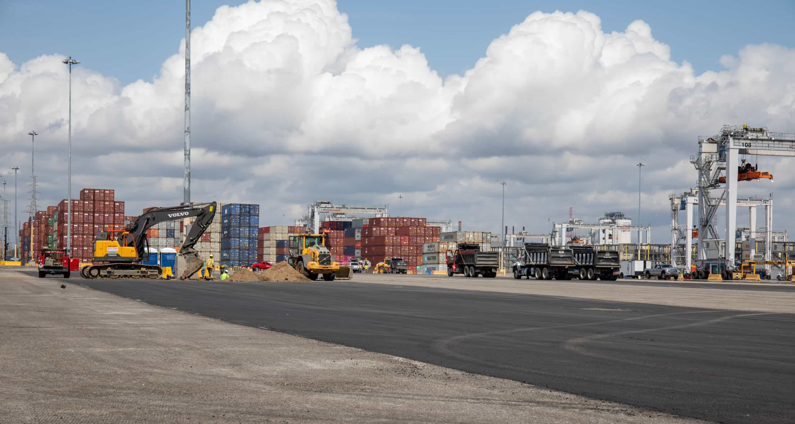 Port of Savannah upgrades its loaded container storage