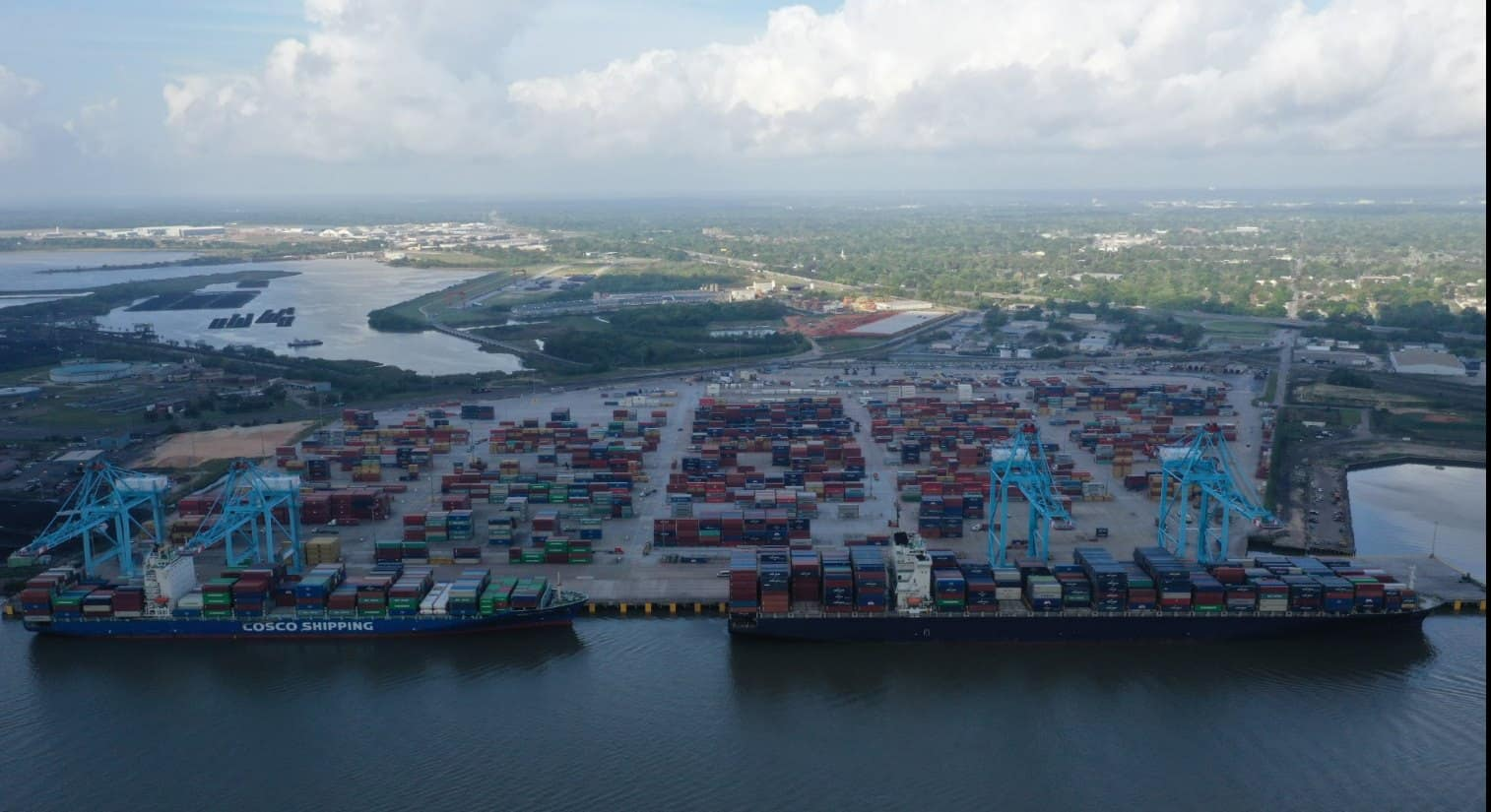 APM Terminals completes phase-three expansion to increase capacity in Alabama