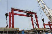 Conakry Terminal receives four new gantry cranes