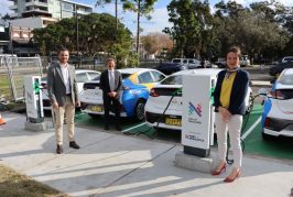 Port of Newcastle installs electric vehicle chargers