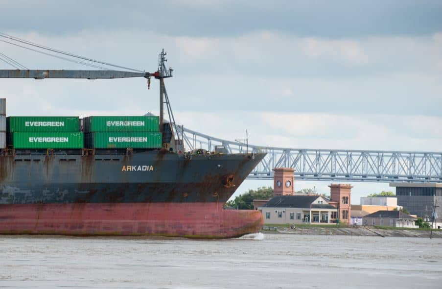 Port of New Orleans gains new Evergreen service offering connections to the Caribbean