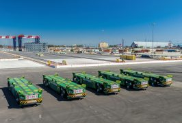 Konecranes to deliver 30 additional AGVs to Long Beach
