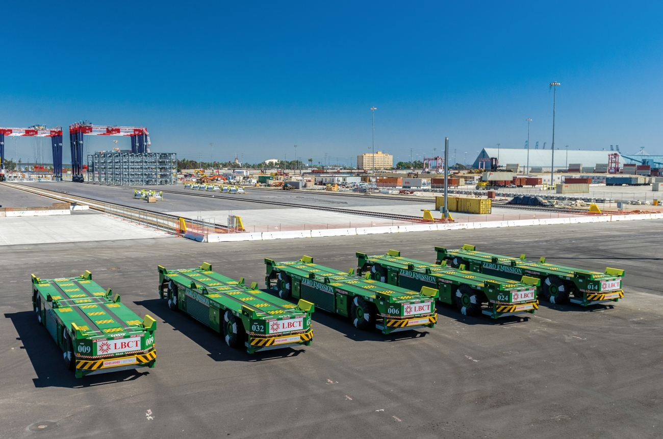 Konecranes to deliver 30 additional AGVs to Long Beach