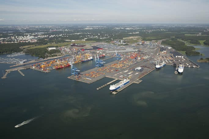 Port of Helsinki temporarily dismisses entire personnel