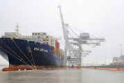 Port of Melbourne welcomes its largest container ship to dock