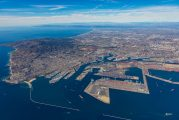 Port of Los Angeles hit by steep drop on volume