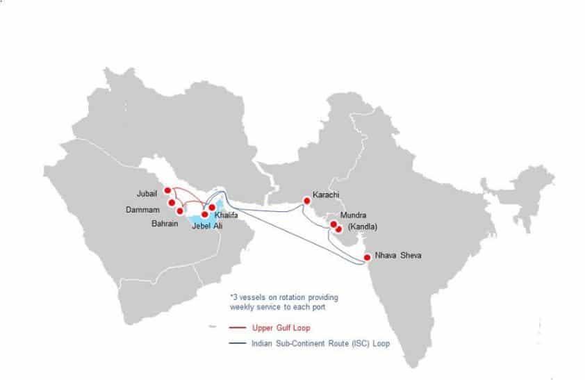 Abu Dhabi Ports launches Gulf feeder services company