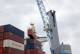 Konecranes Gottwald MHC for new terminal in Trieste, Italy