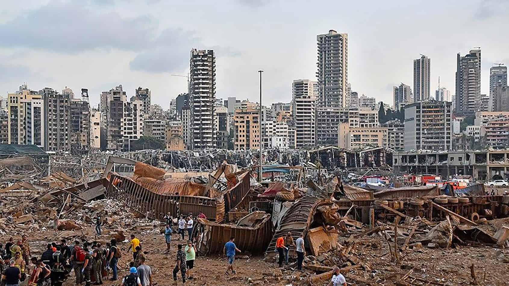 Vessels diverted following devastating Beirut port explosion