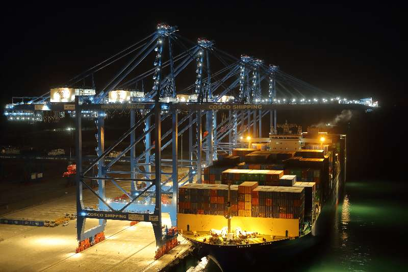COSCO Shipping Ports Abu Dhabi Terminal launches direct service to Europe and Indian Subcontinent