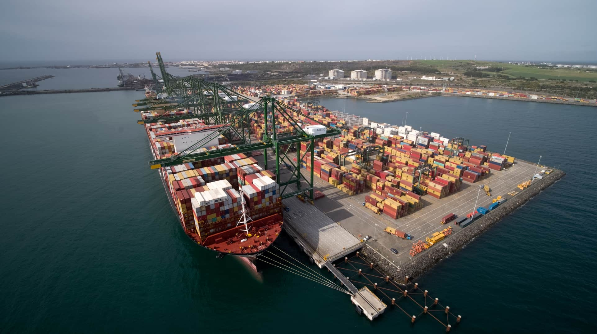 Expansion of Terminal XXI begins at Port of Sines