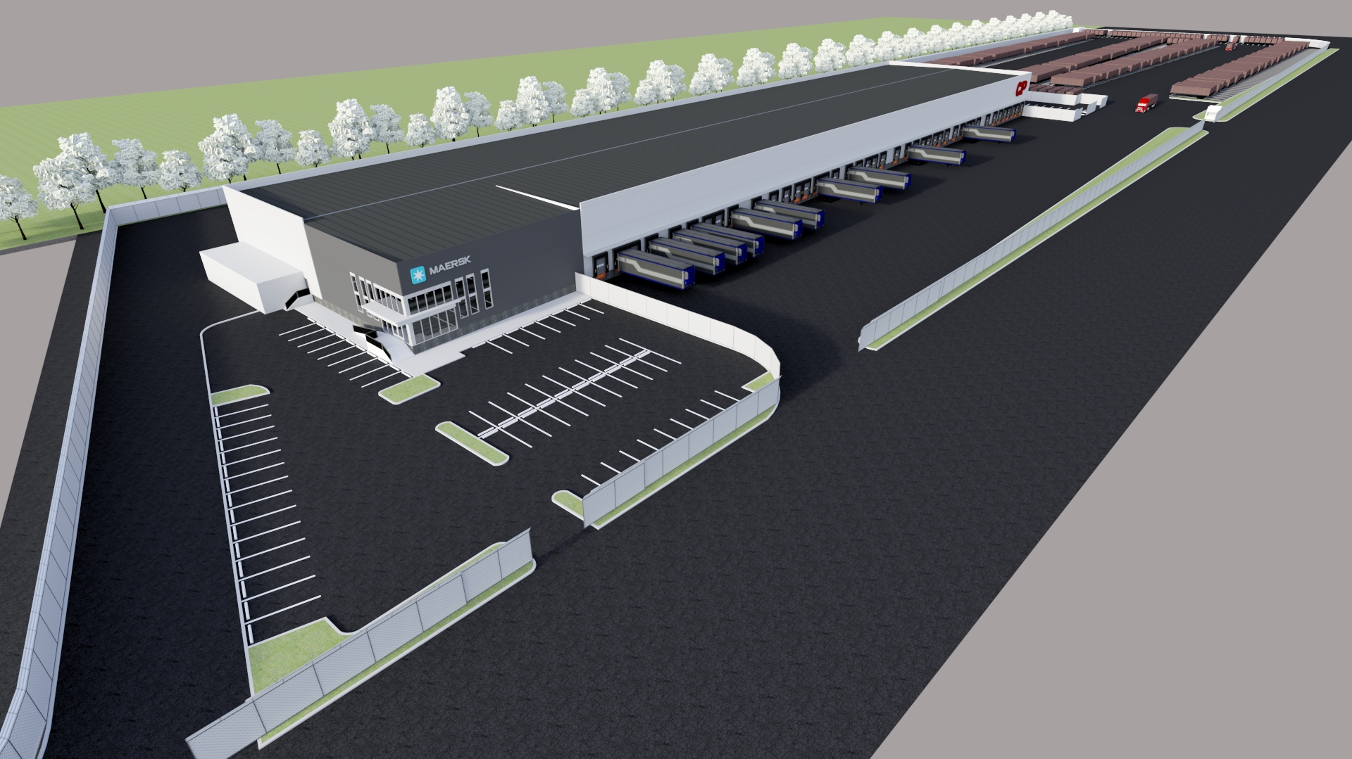 Canadian Pacific Railway and Maersk to develop transload and distribution facility in Vancouver