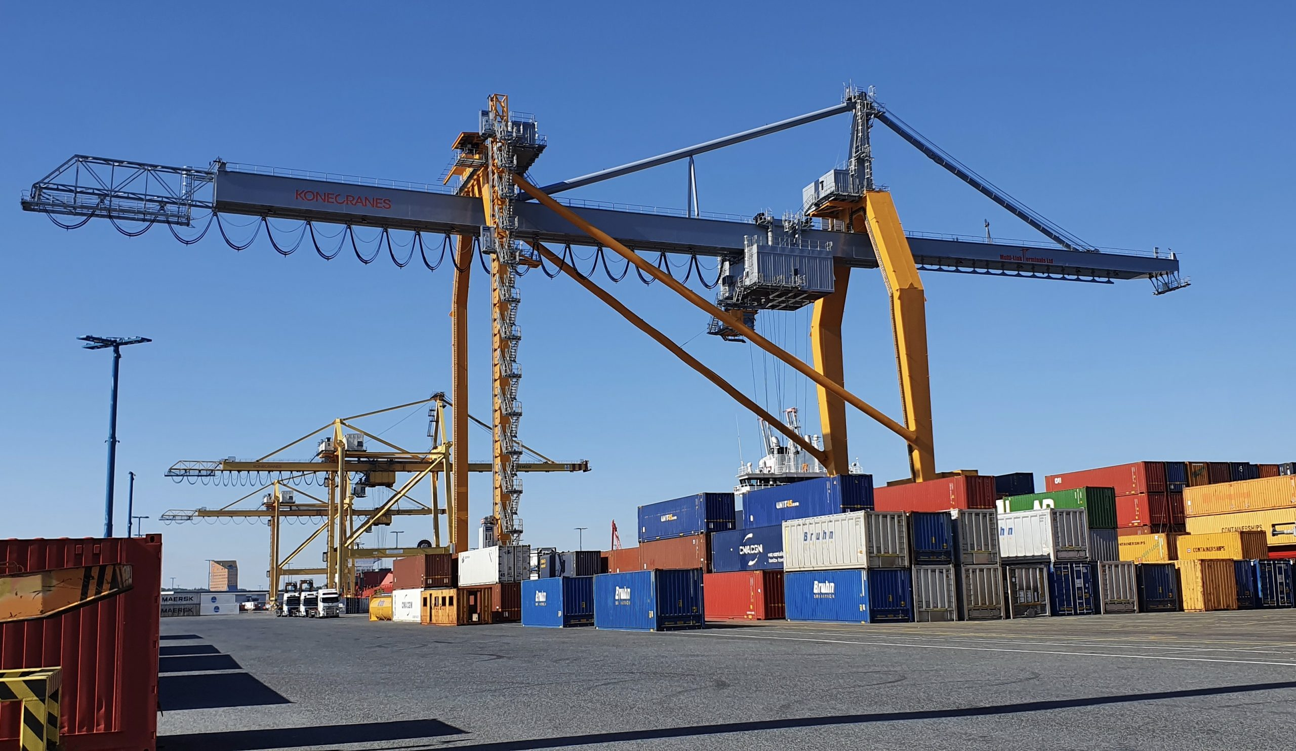Global Ports upgrades equipment at its Finnish terminals