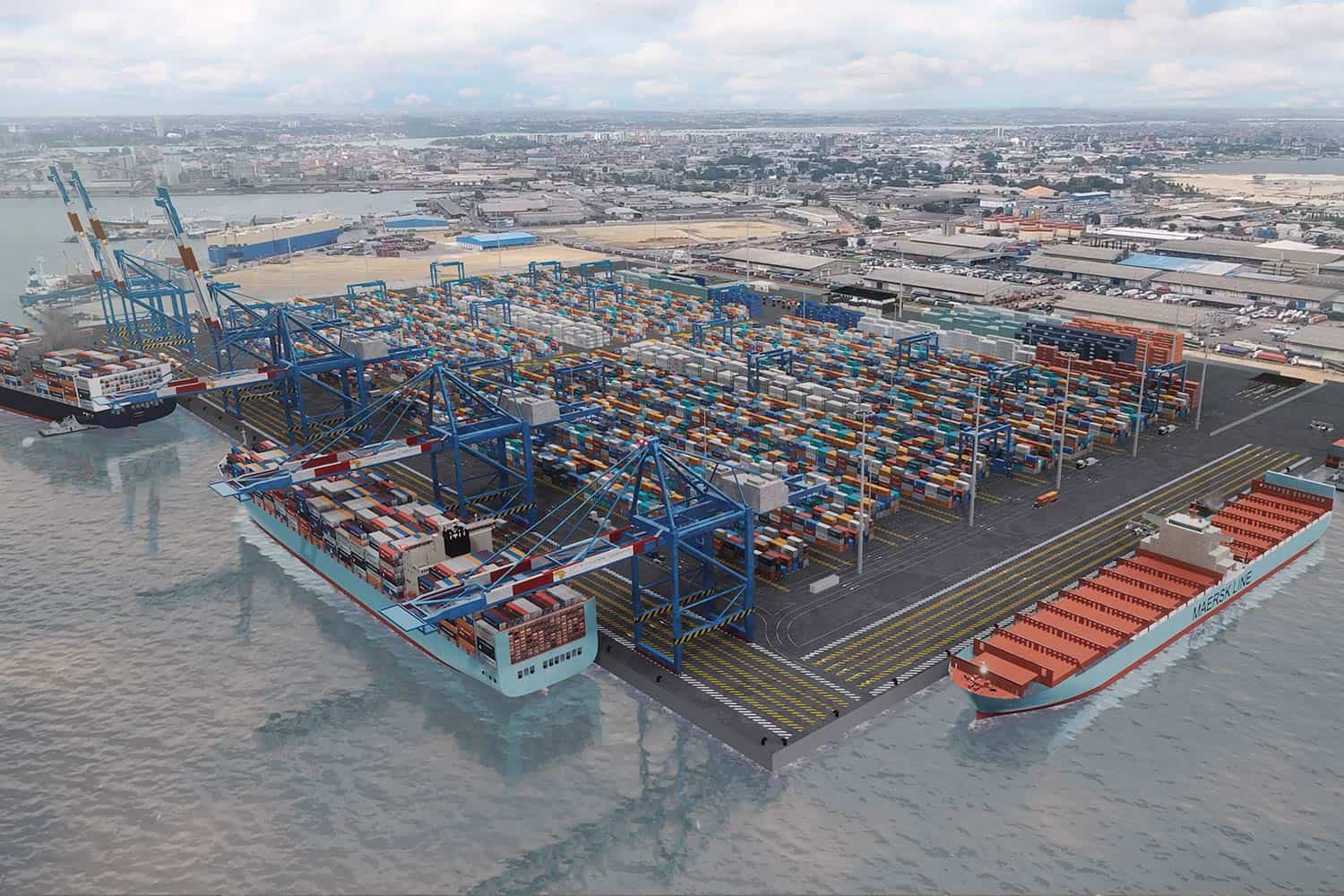 Construction begins for new Ivory Coast Container Terminal