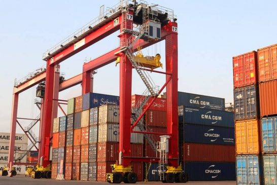 Congo Terminal receives two new RTGs