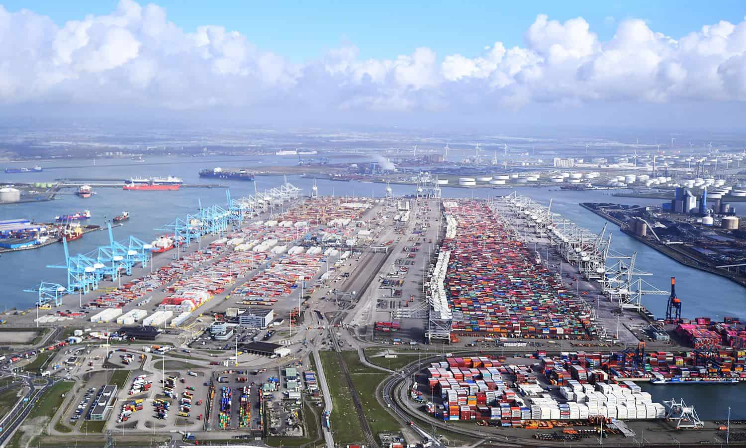 Container volumes down 3% at Port of Rotterdam
