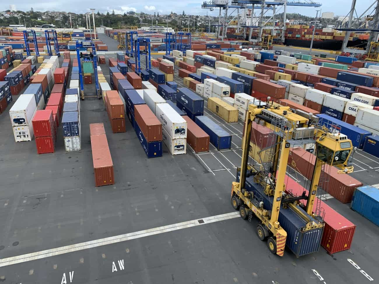 Ports of Auckland goes live with Konecranes automation project