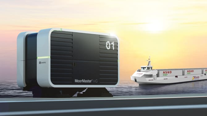 Cavotec unveils next generation automated vacuum mooring system