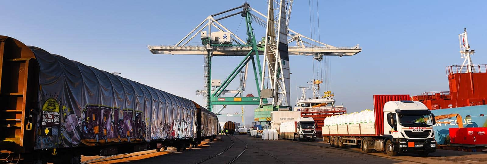Marfret expands container rail service with new stop at the Port of Gennevilliers