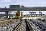 Georgia Ports Authority begins using new rail track