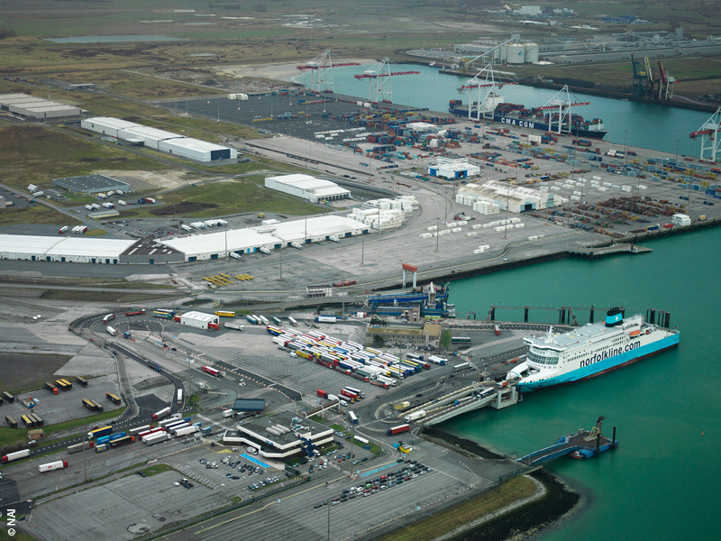 Container volumes rise at Port of Dunkerque despite COVID-19 pandemic