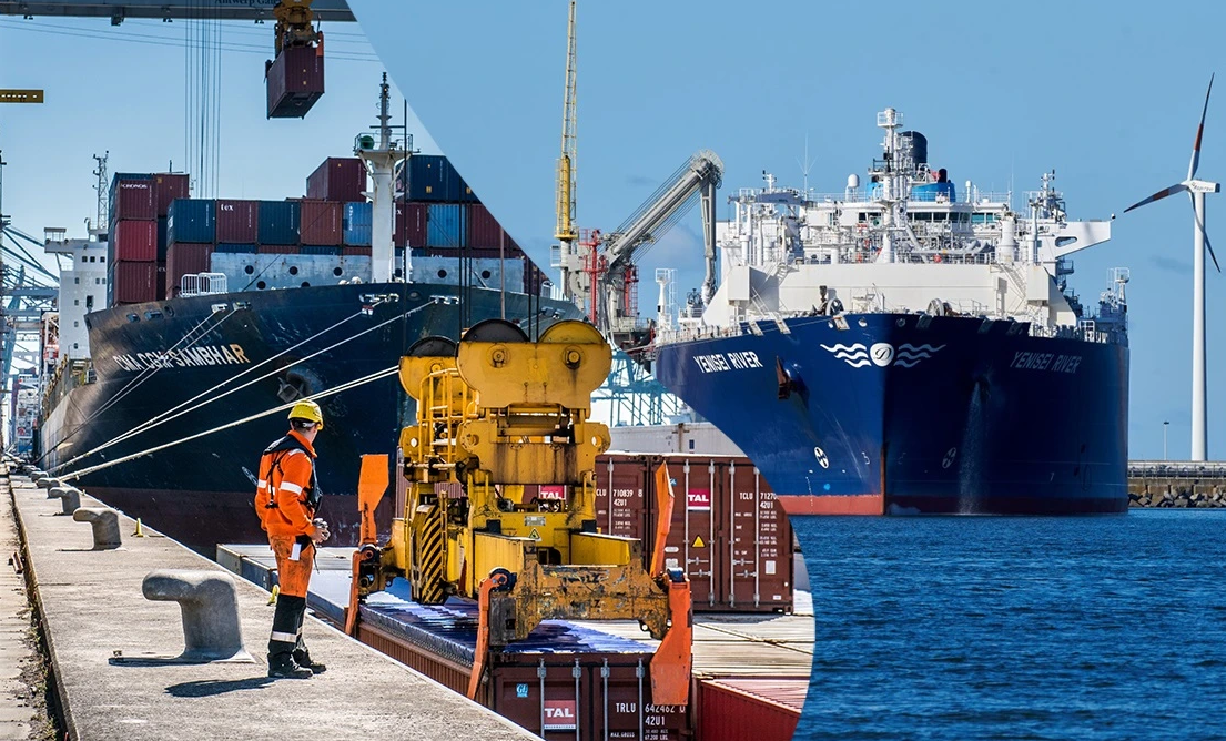 The ports of Antwerp and Zeebrugge are set to merge