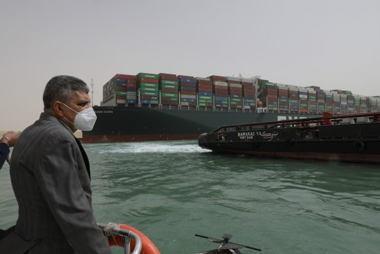 Suez Canal Authority arrests Ever Given, makes claim for US$916m