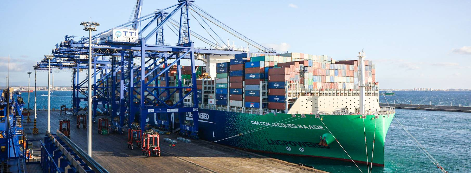 CMA CGM acquires shares in TTIA container terminal, Algeciras