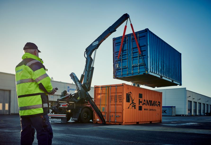 Hammar releases new crane extensions for sideloaders