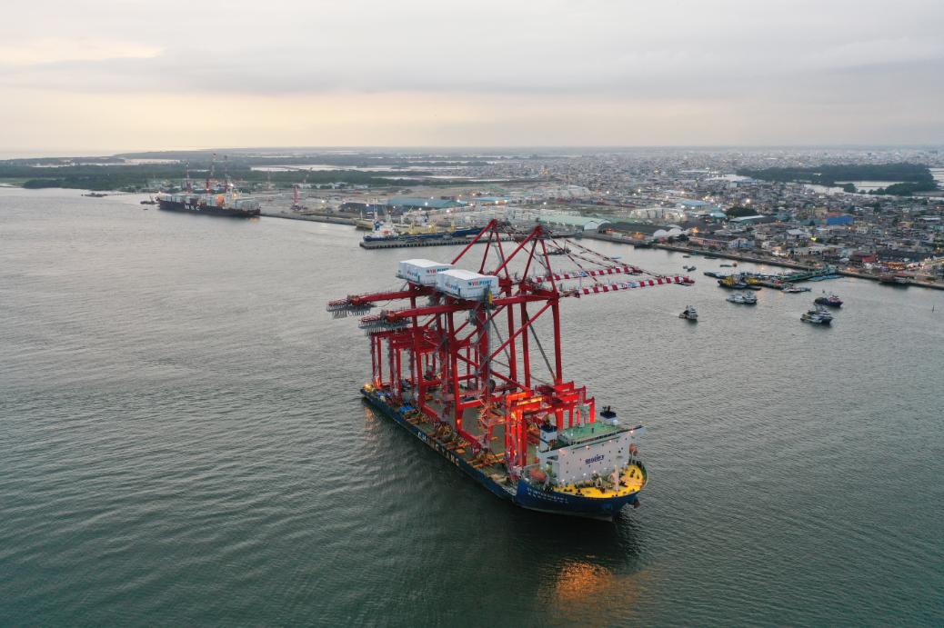 New cranes for Yilport Holding's Puerto Bolívar