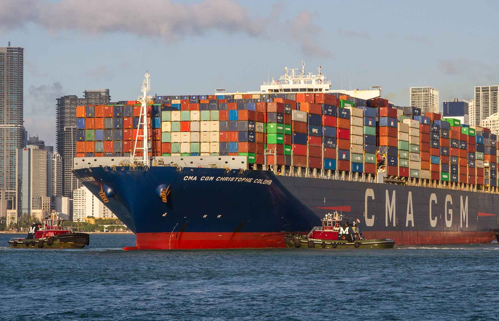 Three-year modernisation project for South Florida Container Terminal nears completion