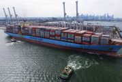 Port of Melbourne receives its longest ever vessel as Maersk repositions boxes