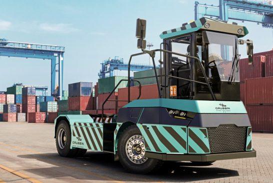 CIT Abidjan orders 36 electric terminal tractors from Gaussin