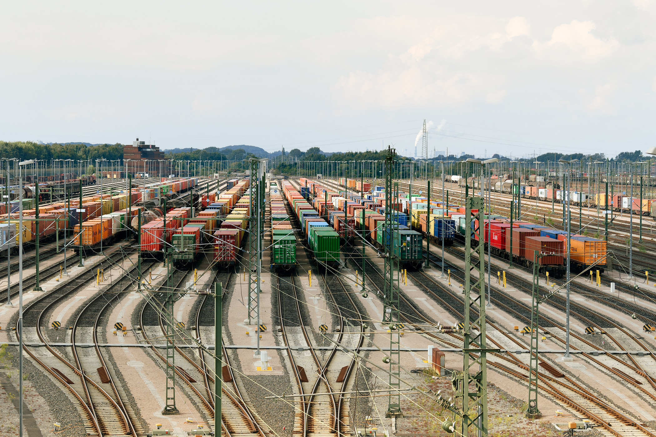 Camco to provide gate and rail automation at three Austrian intermodal terminals
