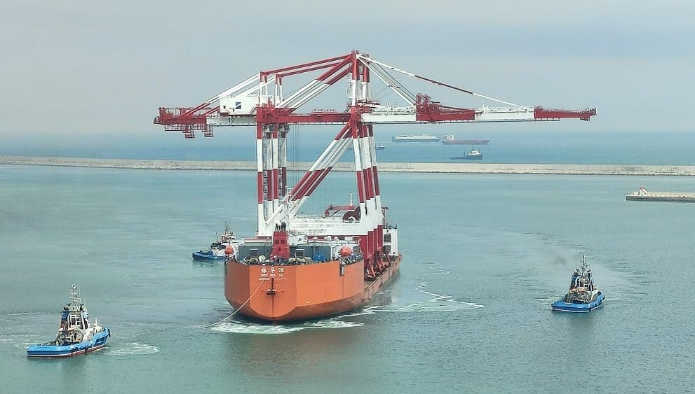 Hutchison Ports BEST acquires two new cranes