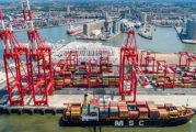 New MSC transport yard at Port of Liverpool