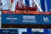 Port of Los Angeles reaches 10m container unit milestone