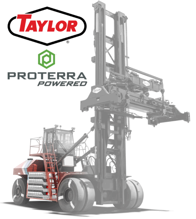Taylor Machine Works partners with Proterra on new mobile handling equipment