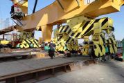 Casper, Phillips & Associates installs seismic isolation system on two cranes in Turkey