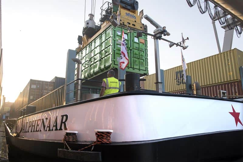 Wärtsilä's replaceable battery containers begin use on Dutch inland waterway vessel